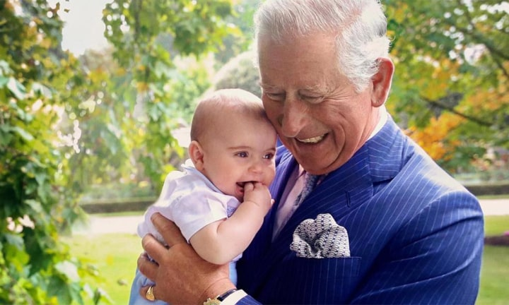 Prince Louis sabotages Prince Charles' 70th birthday photo
