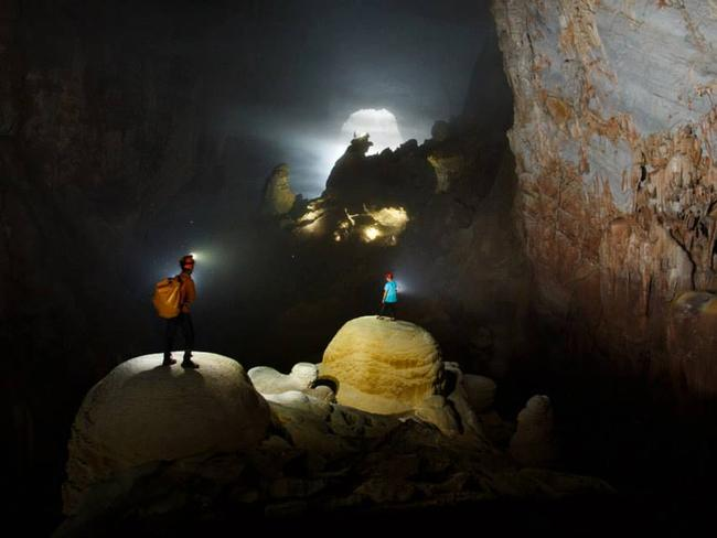 Inside the cave. Picture: Ryan Deboodt