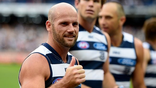 Geelong still not prepared to take a risk with Paul Chapman on the road. Picture: Wayne Ludbey