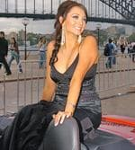 <p>Where it began ... Ricki-Lee arrives for the Australian Idol 04 final at the Sydney Opera House.</p>