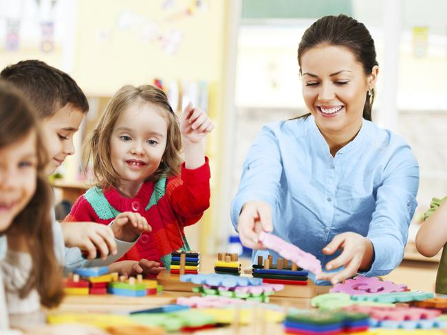 Child care is among the industries that have blossomed in past decades. Picture: iStock