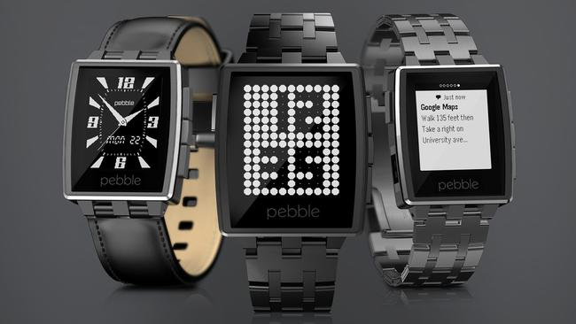 Pebble's second smartwatch, the Steel, is so named for its metal body, replacing a plastic shell.