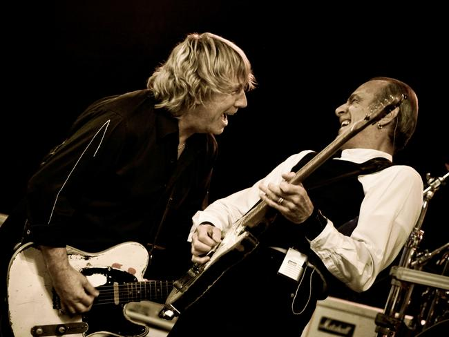 Status Quo's Rick Parfitt and Francis Rossi were a phenomenal live act. Picture: Supplied