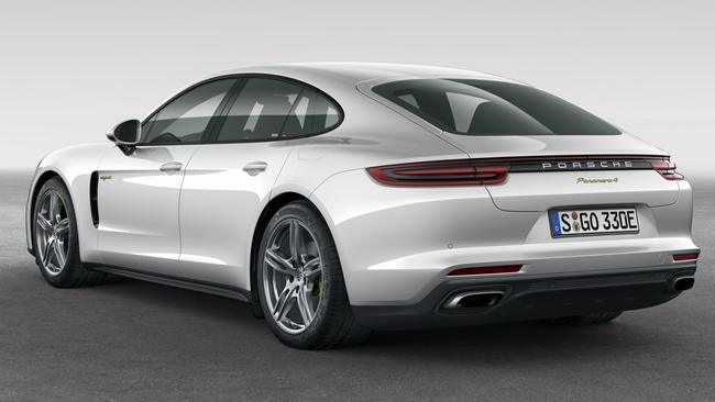 The new Panamera looks better than its predecessor, especially from the rear. Pic: Supplied.