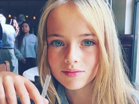 10-year-old model sparks outrage