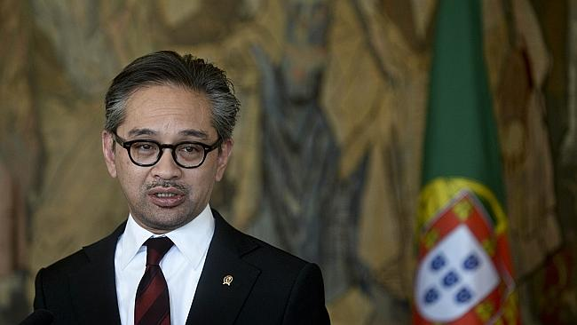 "Difference of opinion ... Indonesia's Foreign Minister Marty Natalegaw says turning back the boats ""is not the best solution"" to ending people smuggling."