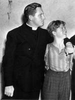 "Mickey Rooney with actor Spencer Tracey from film ""Boys Town"". Picture: File Photo"