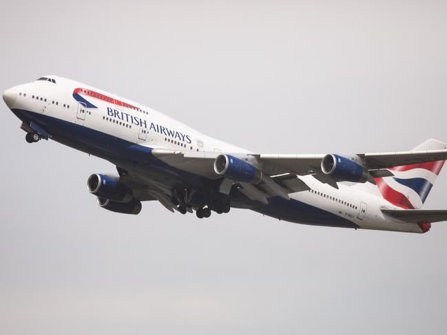 LONDON, ENGLAND - MAY 28: British Airways aircraft take off from Heathrow Airport Terminal 5 on May 28, 2017 in London, England. Thousands of passengers face a second day of travel disruption after a British Airways IT failure caused the airline to cancel most of its services. (Photo by Jack Taylor/Getty Images)