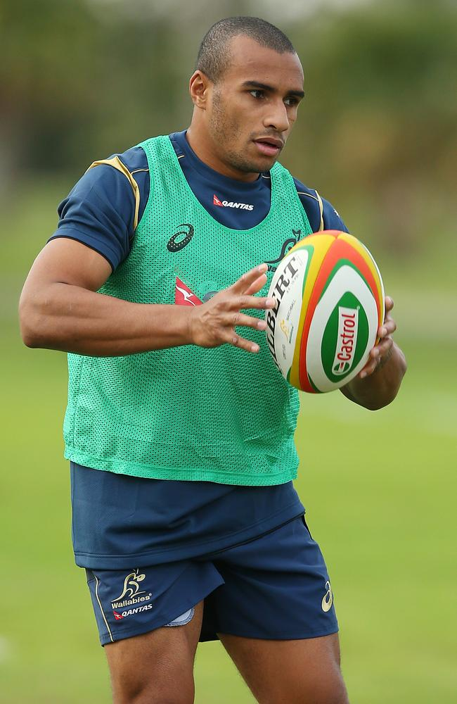 Star halfback Will Genia has been overlooked for the first Test against France.