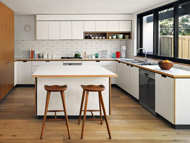 when planning a mid century kitchen renovation you may need to factor in some structural changes so it can integrate with open plan areas - Mid Century Modern Kitchen Update