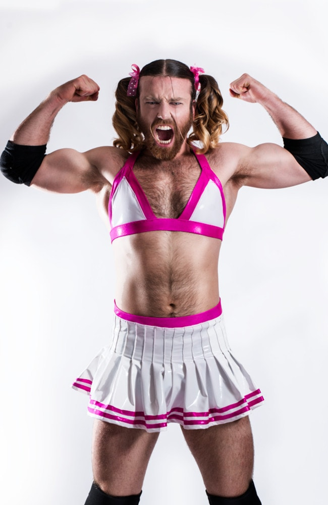 Ladybeard's new band, Deadlife Lolita, encourages fans to exercise while dancing.