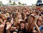Police said festival goers were largely well behaved. Picture: Jake Nowakowski.