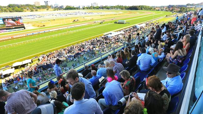 The heaving crowd at Royal Randwick for the last day of the spring carnival. Picture: Mark Evans
