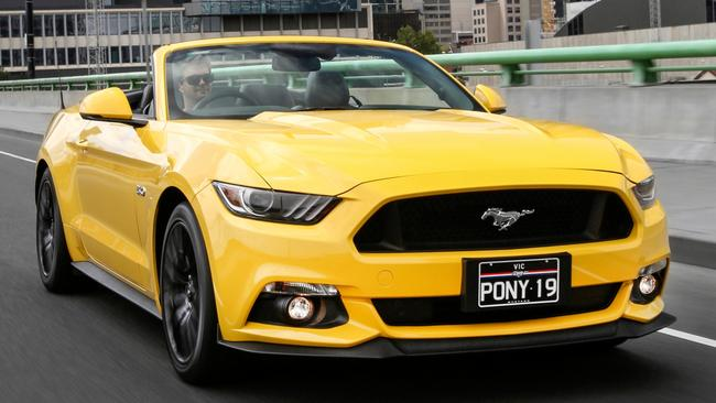 Ford Mustang: Accounts for nearly half the segment sales.