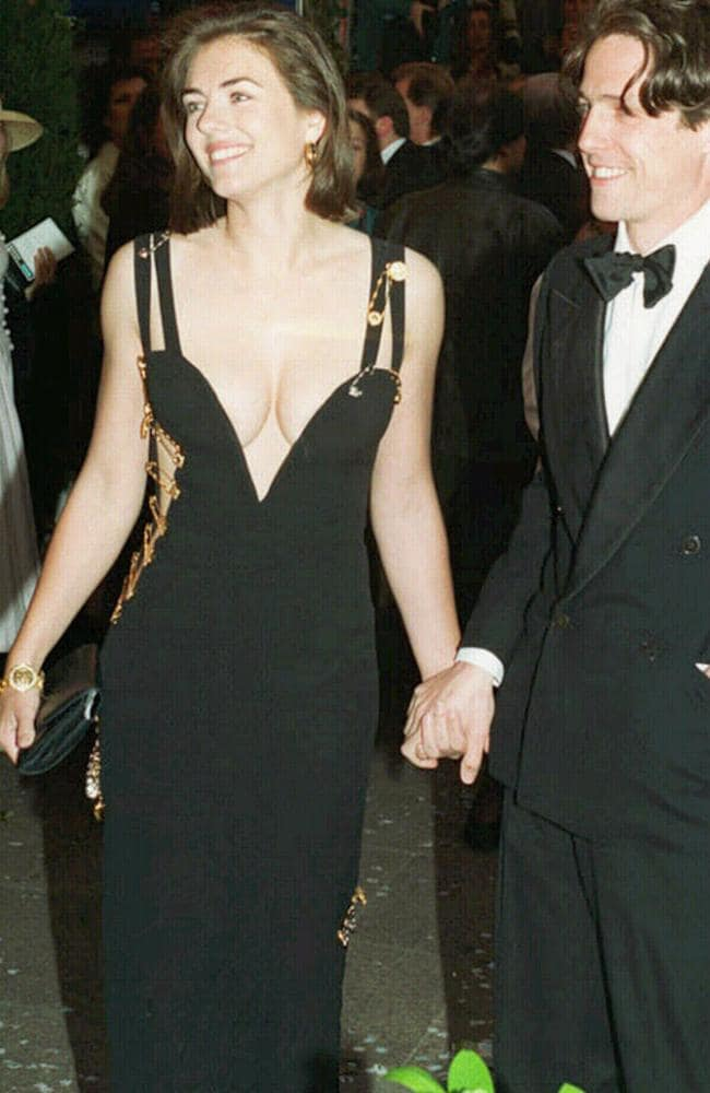 Twenty years ago Elizabeth Hurley wore a Gianni Versace that cemented her quest for breast stardom