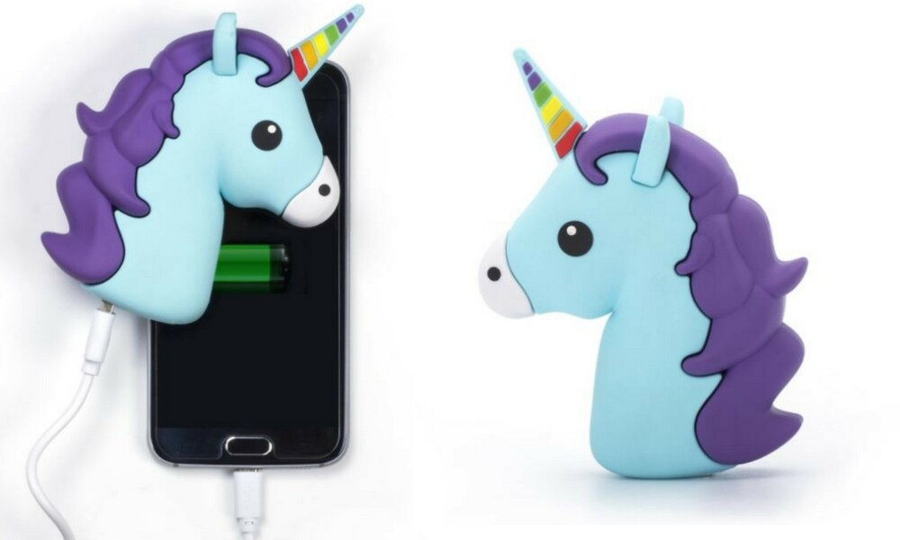 UNICORN POWER PACK $29.95 (DAVID JONES): If you've got a friend, co-worker or relative who is constantly stressing about charging their phone, this is the gift for them. The unicorn power pack works with any phone and fits in your handbag, which means no dead phone over the holidays.