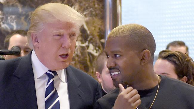 Image result for kanye west and trump