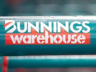 The logo of Wesfarmers Ltd.'s Bunnings Warehouse is displayed on shopping trolleys at a store in Sydney, Australia, on Thursday, July 28, 2011. Revenue at Bunnings, Australia's largest home improvement chain, rose 6.1 percent to A$1.6 billion, Perth-based Wesfarmers said in a statement today. Photographer: Ian Waldie/Bloomberg
