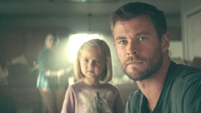 Chris and Elsa in 12 Strong. Photo: Supplied