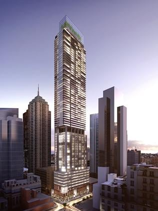 Greenland Group are going to build Sydney's tallest residential tower.