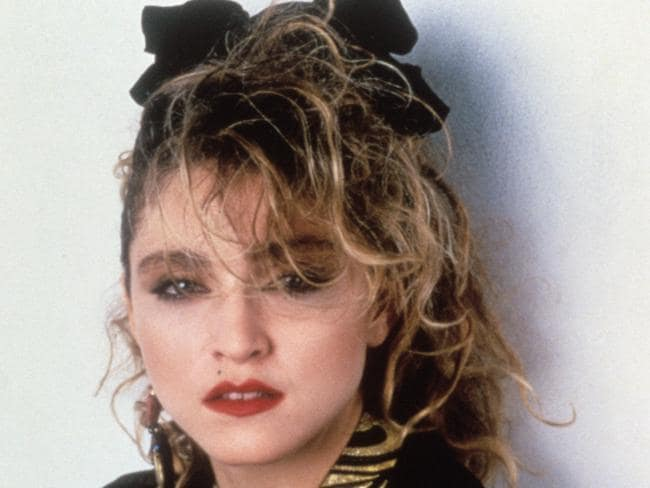 Madonna's '80s hair game was strong.
