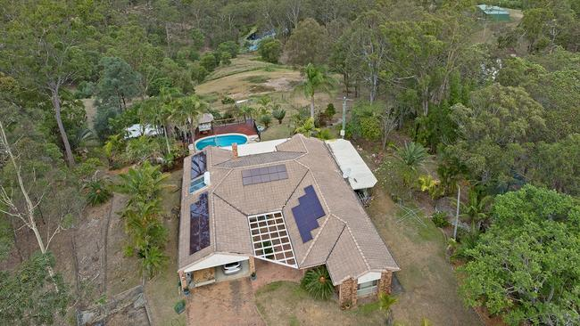 The property at 460 Raynbird Rd in Narangba used to be an alpaca farm.