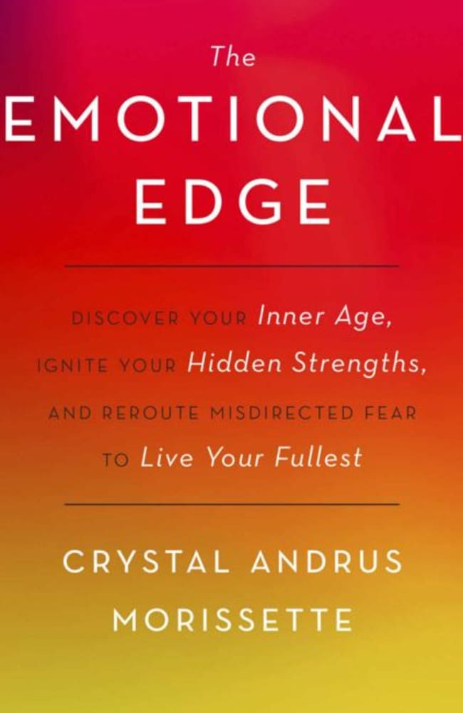 Crystal Andrus Morissette released her book 'The Emotional Edge' last year. Picture: Supplied