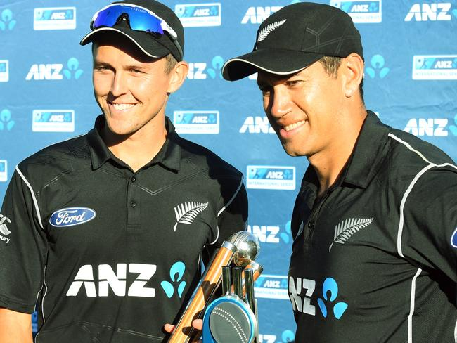 New Zealand were all smiles when they reclaimed One Day International cricket supremacy from Australia (even if we are the world champions).