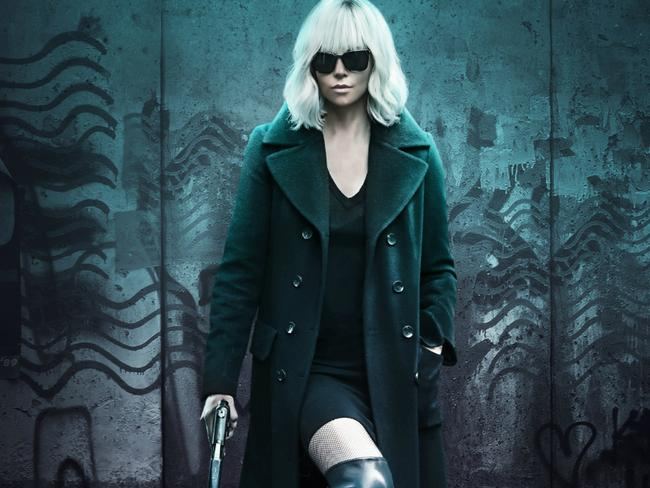Don't mess with the Atomic Blonde.