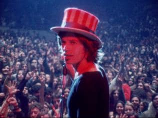 Top that! Mick Jagger in Gimme Shelter.