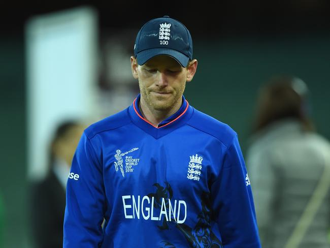 England captain Eoin Morgan had an unhappy World Cup.