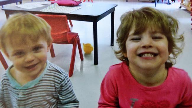 Eamon Daley, 2 & Charlotte Daley, 4.