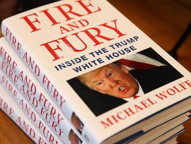 The accuracy of <i> Fire and Fury</i> has been thrown into question after a number of people disputed their comments in the book. Picture: Getty Images