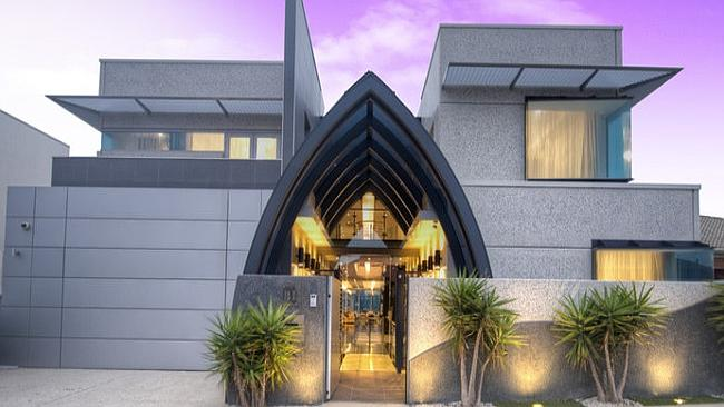 BEHIND the doors of this Tennyson South Australia home are fantastic water views. Picture: Supplied realestate.com.au