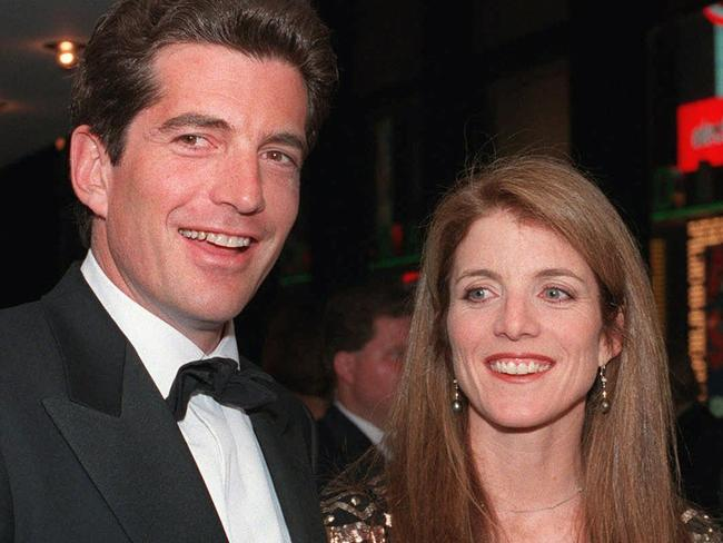 John F Kennedy Jr. and his sister, Caroline Kennedy in 1998.