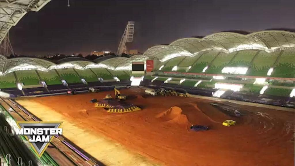 Doohan to competition during Monster Jam