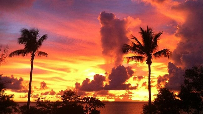 An amazing sunset at Fannie Bay in the Darwin. Picture: Nelson Hall