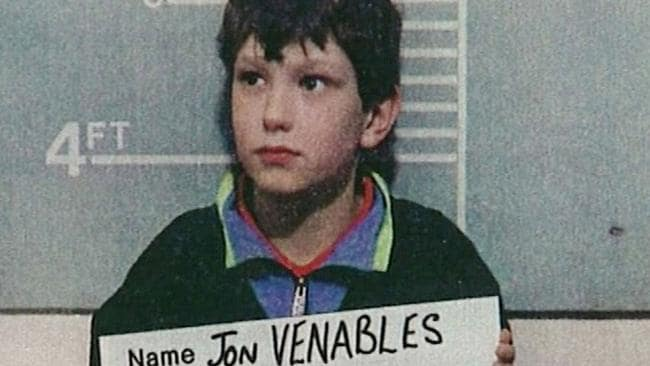 British child murderer Jon Venables, who along with Robert Thompson, killed Jamie Bulger in 1993 in north west England.