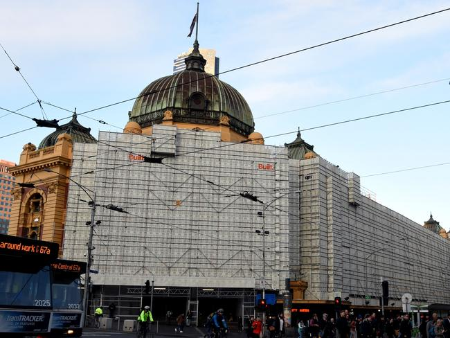 flinders st station revamp revealed herald sun. Black Bedroom Furniture Sets. Home Design Ideas