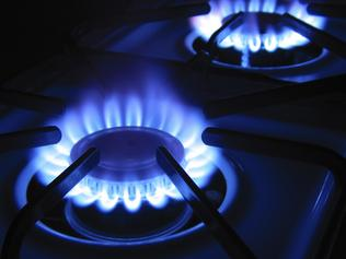 Gas Burners - Stock image