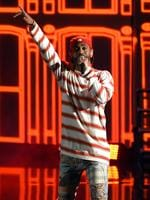 Big Sean performs onstage during the 2017 MTV Movie And TV Awards at The Shrine Auditorium on May 7, 2017 in Los Angeles, California. Picture: Getty