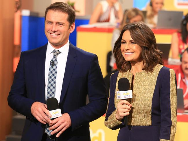 Karl Stefanovic's navy suit has been a constant feature on Today for the past year.