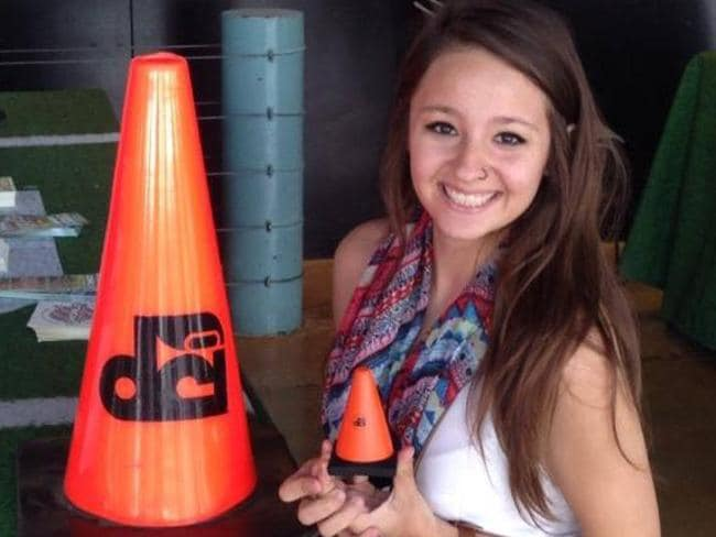 Sara Mutschlechner, 20, was killed in a road rage incident.