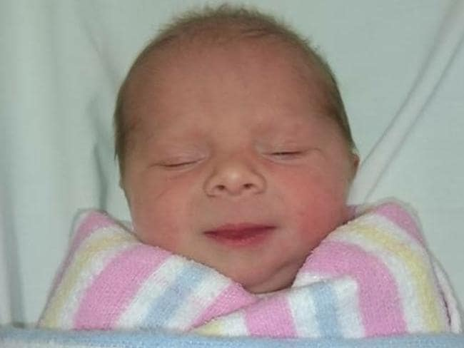 Baby Chelsea. Picture: Natalie Beale  How I saved my daughter's life in eight minutes 87724265925092e28f9308dc8771a968