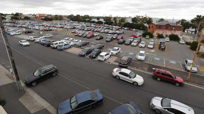 Busport Car Park Geelong