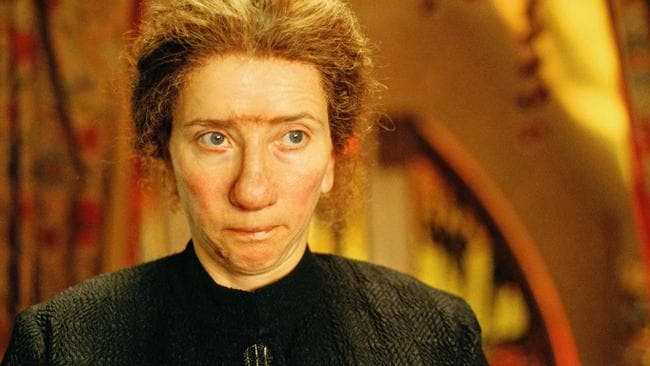 Thompson in a scene from the 2005 film Nanny McPhee.