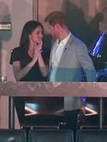 Meghan Markle and Prince Harry are seen at the Closing Ceremony on day 8 of the Invictus Games Toronto 2017 at the Air Canada Centre on September 30, 2017 in Toronto, Canada. Picture: WireImage