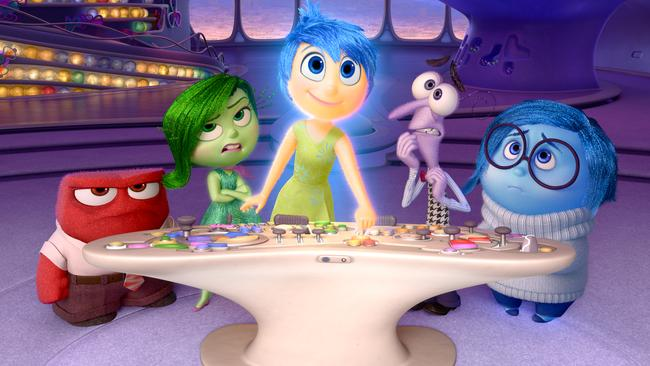Pixar should provide counsellors for viewers of Inside Out. (Disney-Pixar via AP, File)