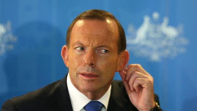Endless hunt ... Prime Minister Tony Abbott has hinted that Flight MH370 may never be found. Picture: Getty