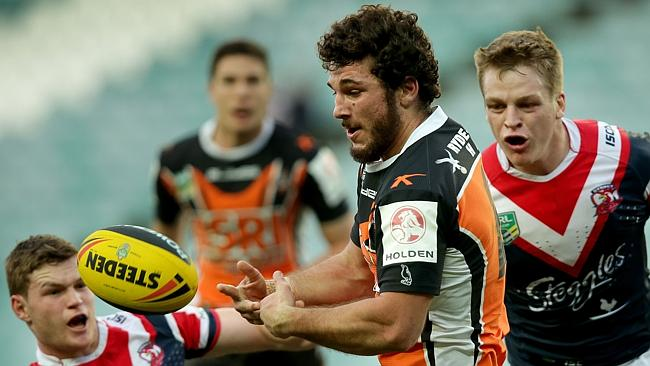 Former Tigers under-20s star Brendan Santi has moved to Parramatta.